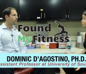 Found My Fitness with Dr. Rhonda Patrick interview with Dr. Dominic D'Agostino on Ketosis